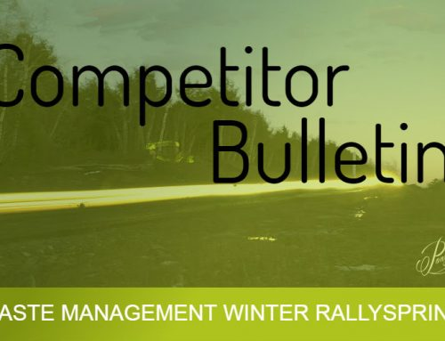 Competitor Bulletin #1 – WMWR17
