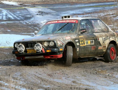 2017 Waste Management Winter RallySprint transformed from winter wonderland to mud fest