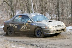 Matt Chmielewski, from Harvey's Lake, Penn. and co-driver Pete Sandy from Moosic, Penn., winners of the R4O class at the 2017 WMWR, will be back this year to defend their title in the #929 Subaru WRX.